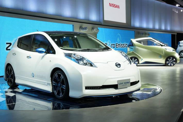 Nissan Leaf Nismo Concept на Токийском автосалоне 2011